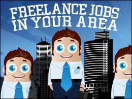 Find freelance jobs in your area