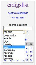 CraigsList's Search Tool