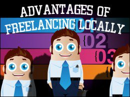Advantages of freelancing locally