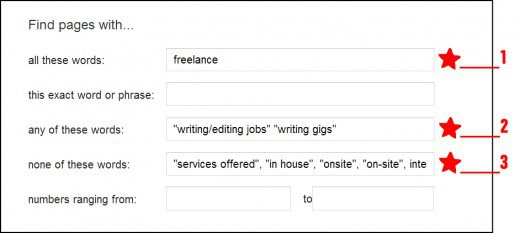Adding job-specific keywords