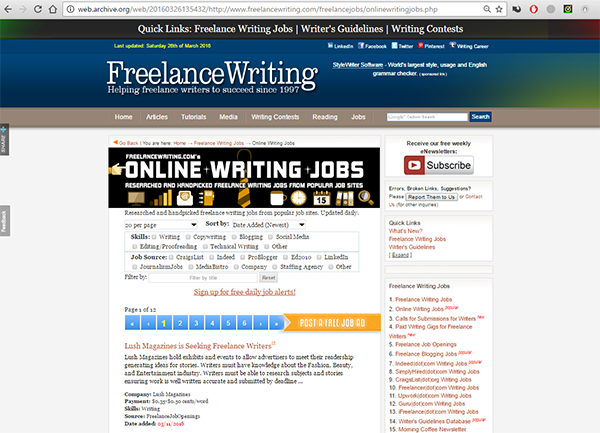Online-Writing-Jobs.com and FreelanceWriting.com